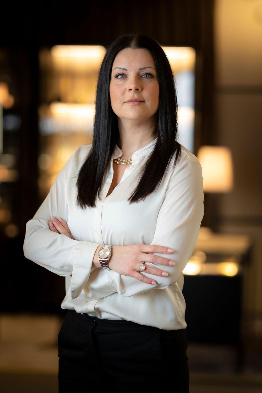 Porträttbild på Mikaela
